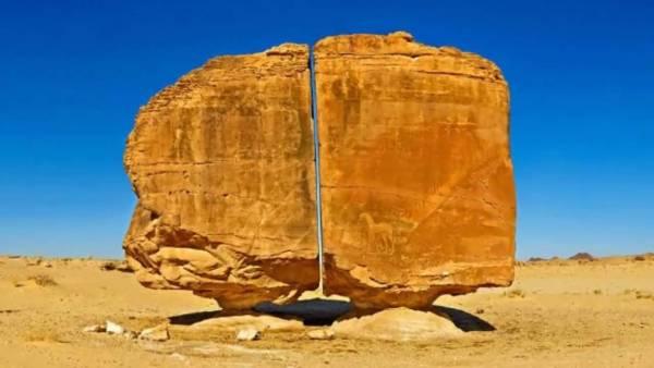 La Misteriosa Roca de Al Naslaa ¿Intervención Extraterrestre?