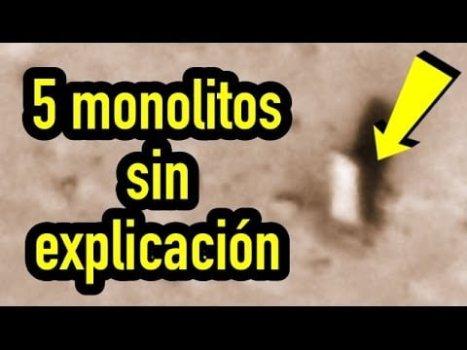 5 monolitos sin explicación en el sistema solar