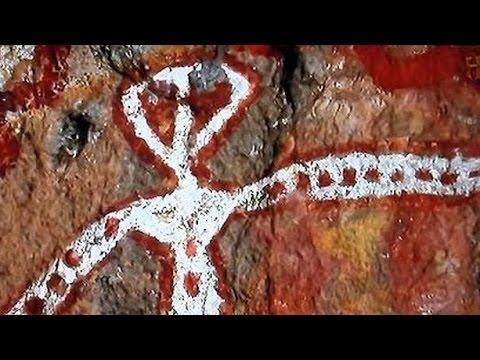 Extraterrestres que fueron desollados por aborígenes