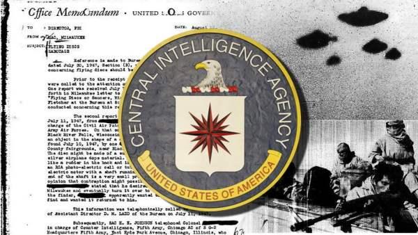 La CIA desclasifica documentos sobre Entidades Paranormales y OVNIS