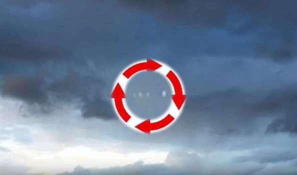 OVNIs Intermitentes en rotación filmados sobre West Kelowna