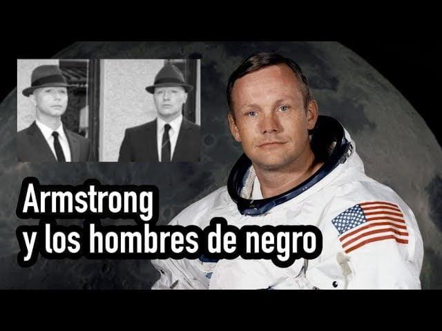 ¿Persiguieron los hombres de negro a Neil Armstrong?