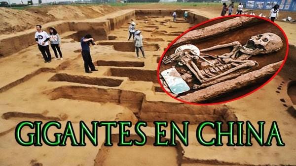 """""""GIGANTES"""" Descubren en China Restos de 5,000 Años de Antigüedad"""