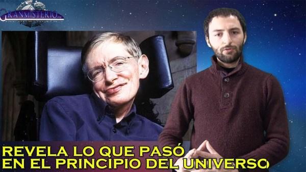 Stephen Hawking cree conocer lo que había antes del Universo