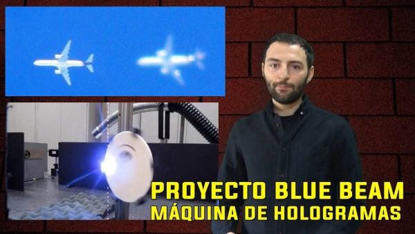 Inventan una MÁQUINA para crear Hologramas que HABLAN en el cielo – Proyecto Blue Beam