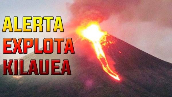 ¿El Volcán Kilauea está apunto de EXPLOTAR? ALGO SE OCULTA BAJO TIERRA