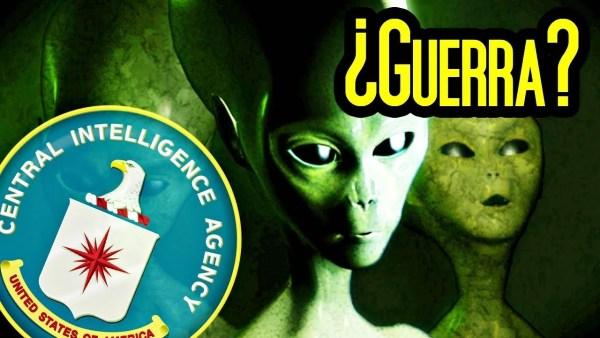 Nuevo documento de la CIA desclasifica ataque extraterrestre