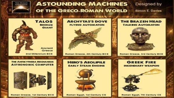 6 Asombrosas Máquinas del Mundo Antiguo