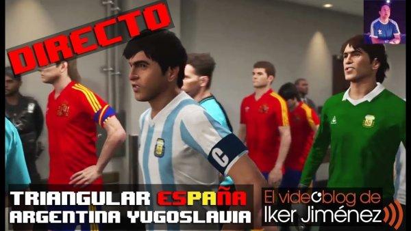 Triangular España-Argentina-Yugoslavia