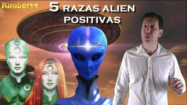 LAS 5 RAZAS ALIEN DISPUESTAS A INTERVENIR LA TIERRA PARA AYUDARNOS