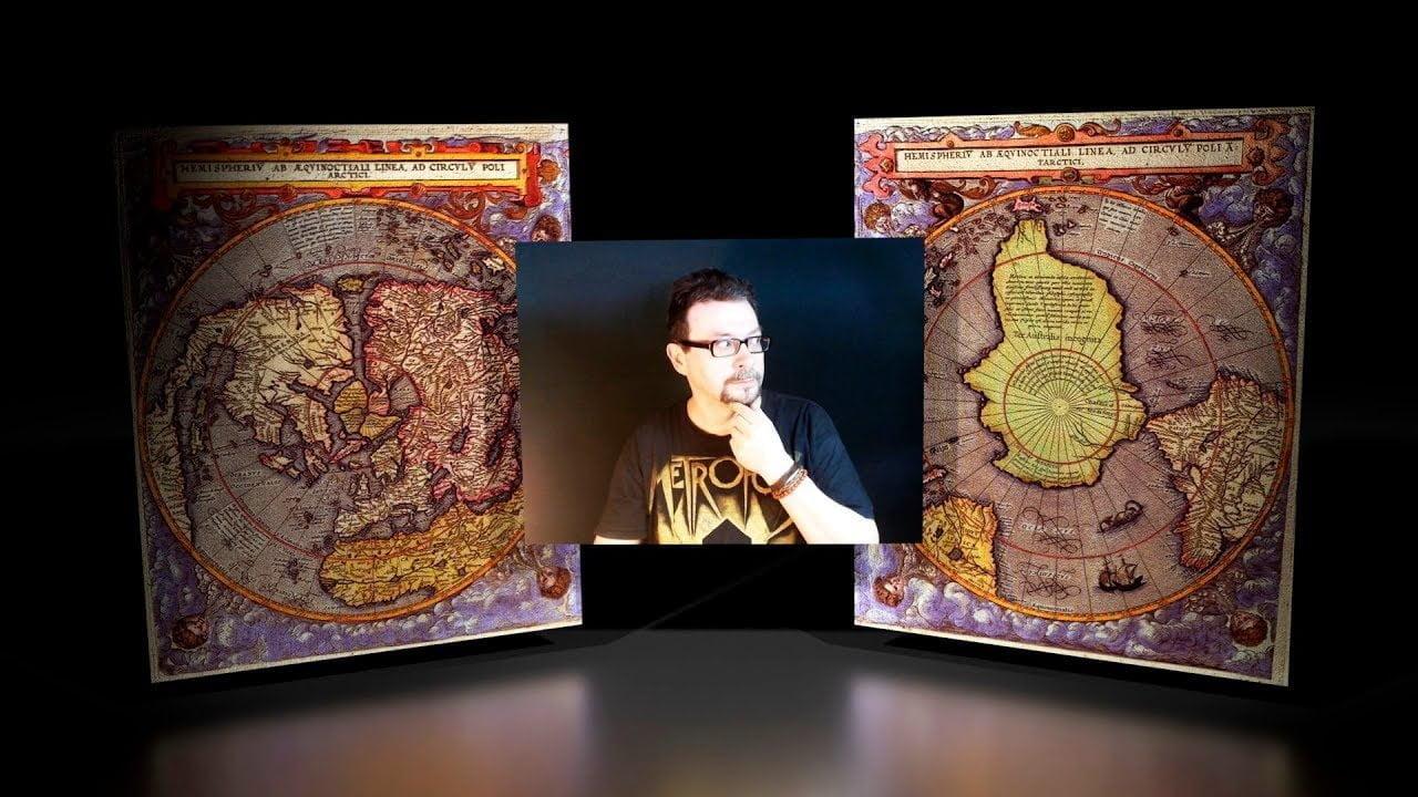 Los Inexplicables Mapas Polares de Gerard de Jode