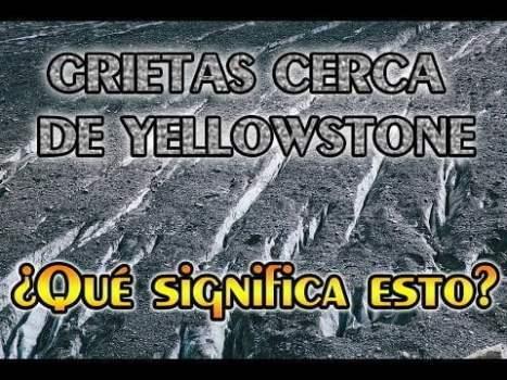 Aparecen Grietas de Hasta 30 Metros de Largo Cerca de Yellowstone