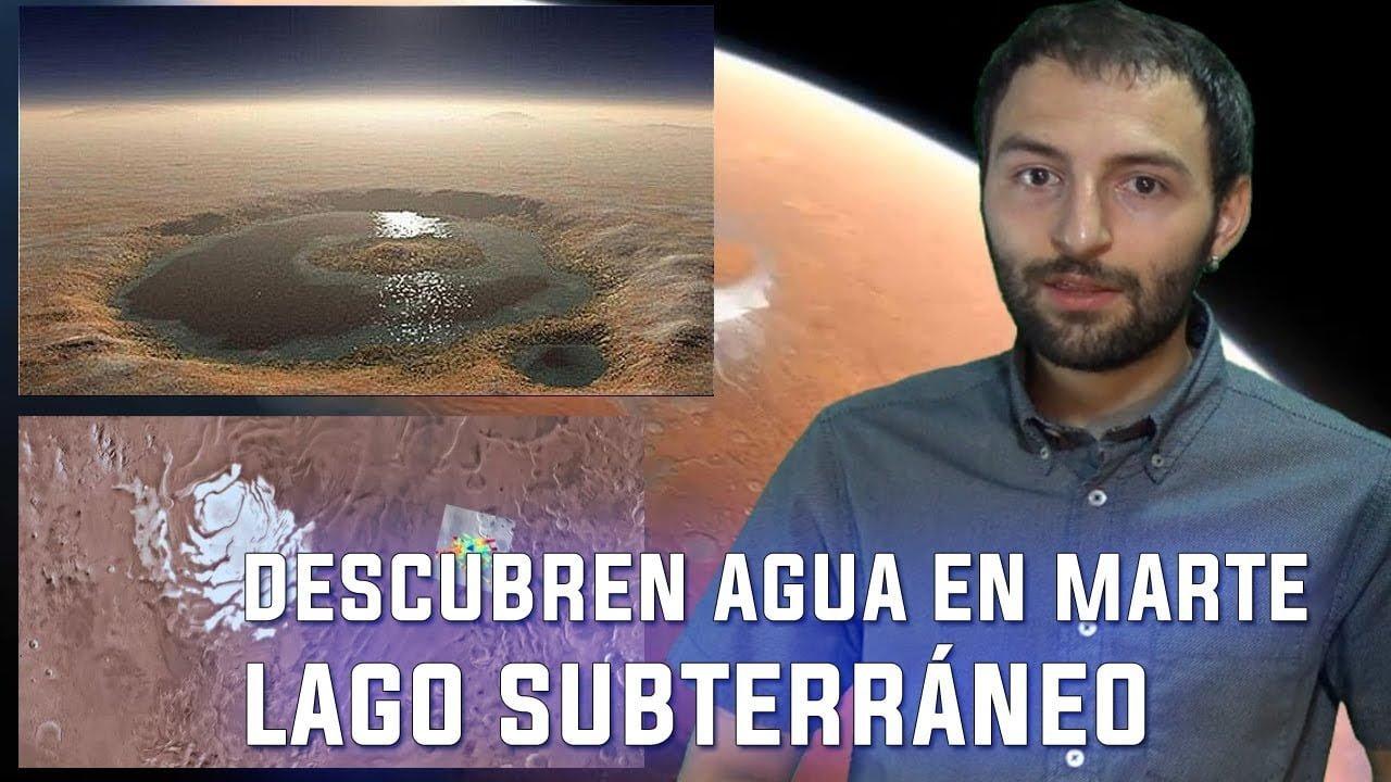 Descubren AGUA en MARTE … ¿Otra vez? Enorme Lago Subterráneo Marciano