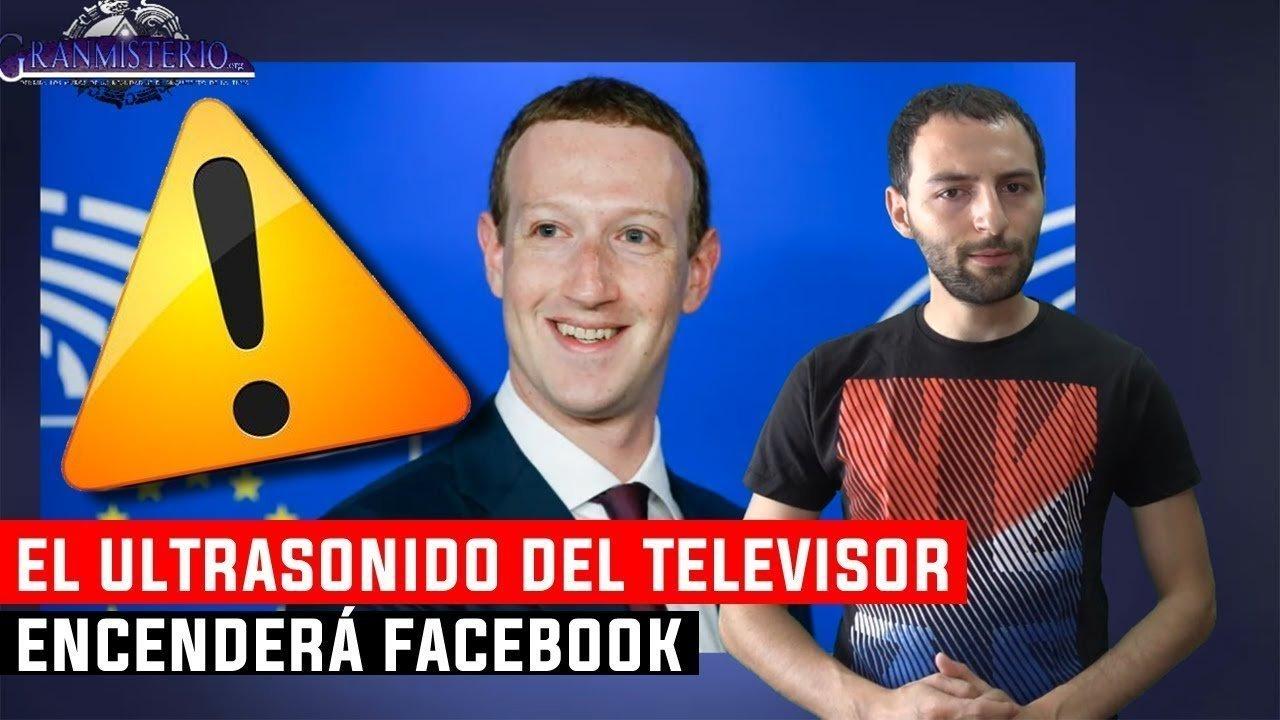 Facebook activará tu Teléfono usando Ultrasonidos emitidos por el Televisor