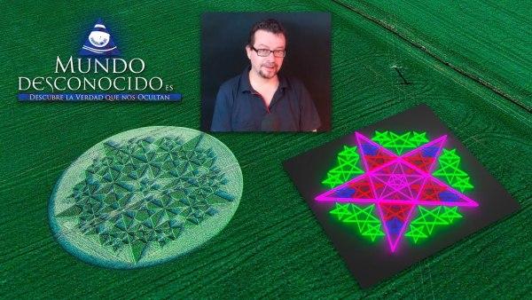 Nuevos Círculos de las Cosechas con Mensaje Oculto