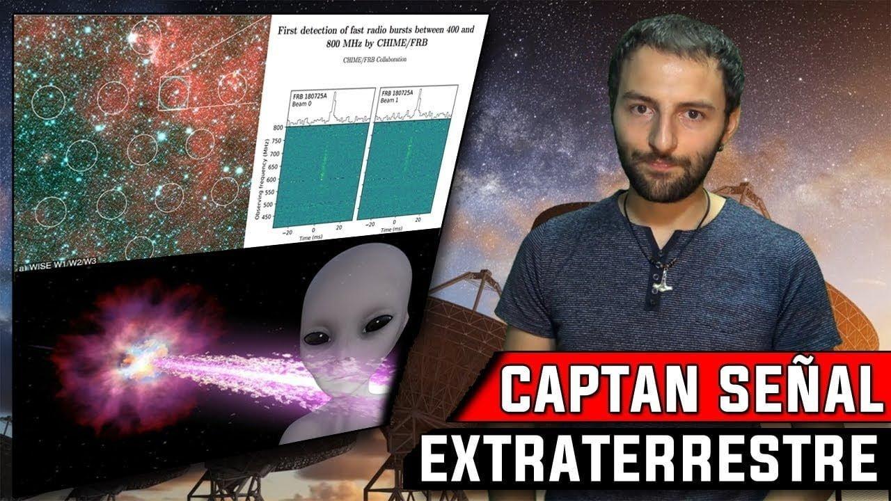 Captan La señal extraterrestre más EXTRAÑA de la historia