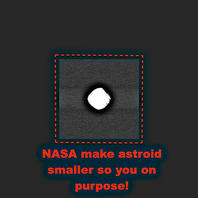 Foto de la NASA hace que el Asteroide Bennu parezca más pequeño