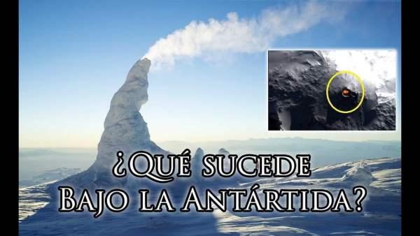 Algo Radiactivo y Muy Caliente Derrite la Antártida Desde Abajo