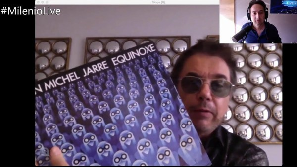 Entrevista a Jean-Michel Jarre | #MilenioLive