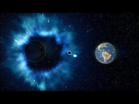 Un Huracán de Materia Oscura se Dirige Rápidamente Hacia la Tierra