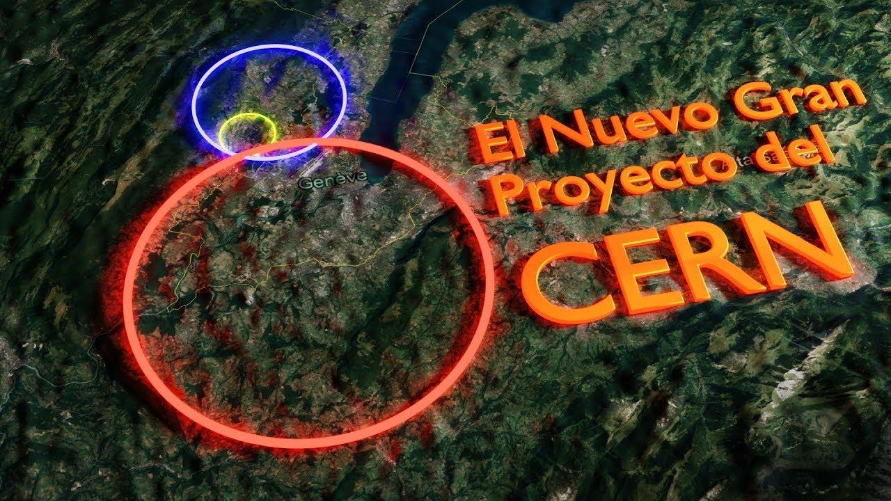 El CERN Planea Construir un Súper Acelerado de Partículas