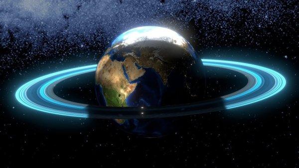 La Tierra tuvo Anillos como Saturno