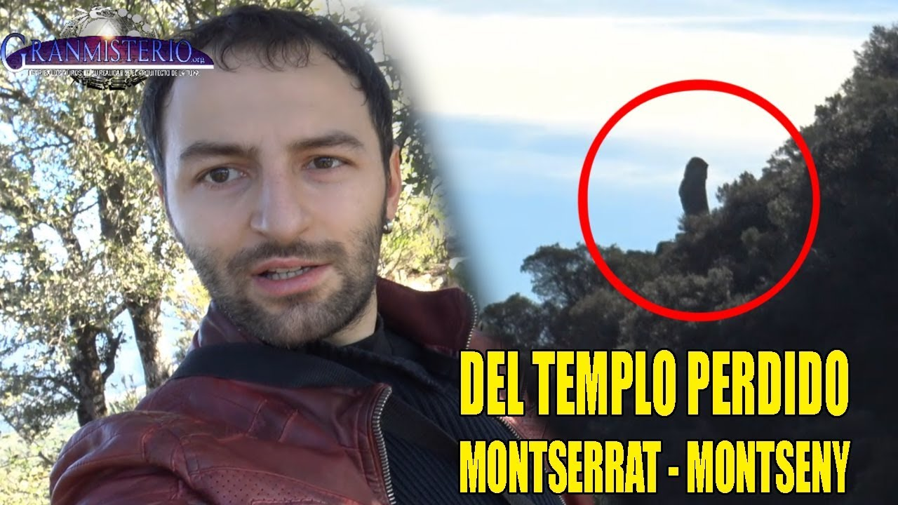 MONTSERRAT OCULTA UNA CIUDAD PERDIDA – Las ruinas del templo del Montseny