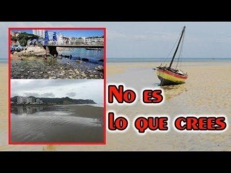 La VERDADERA Razón de la Retirada del MAR en las Playas de México