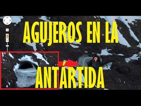 Los Agujeros de la Antártida