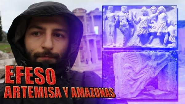 El Misterioso templo de las Amazonas en EFESO, el culto a Artemisa y a la Virgen María