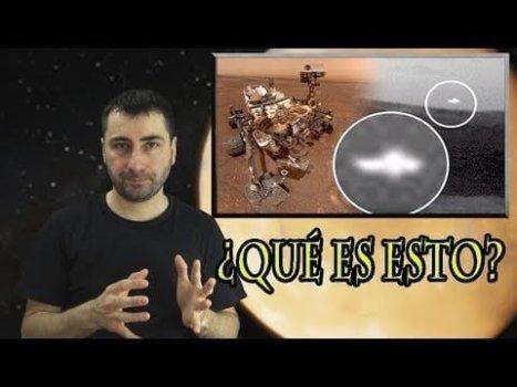 El Curiosity Capta Una Misteriosa Luz Flotando Sobre Marte