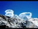 Nubes (y estelas) impresionantes con formas peculiares