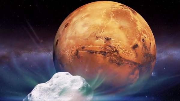 Extraterrestres avisaron de un cometa sobre Marte