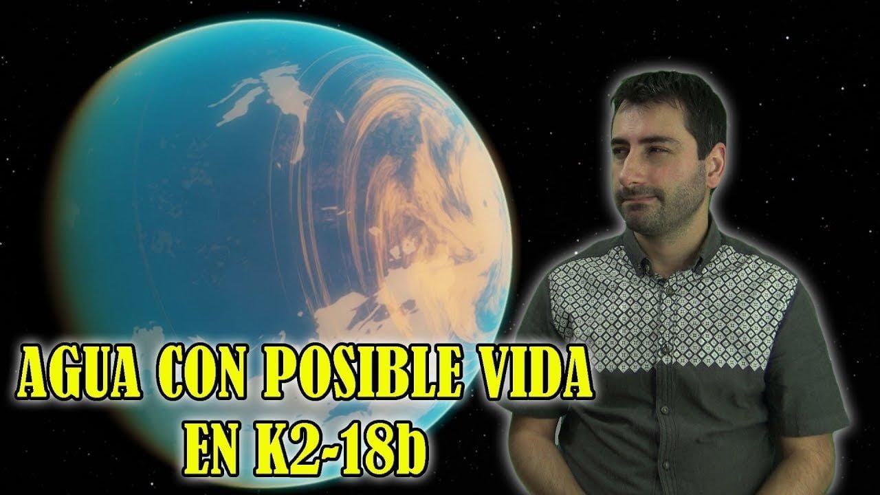 Detectan AGUA por Primera Vez en un Exoplaneta Potencialmente Habitable