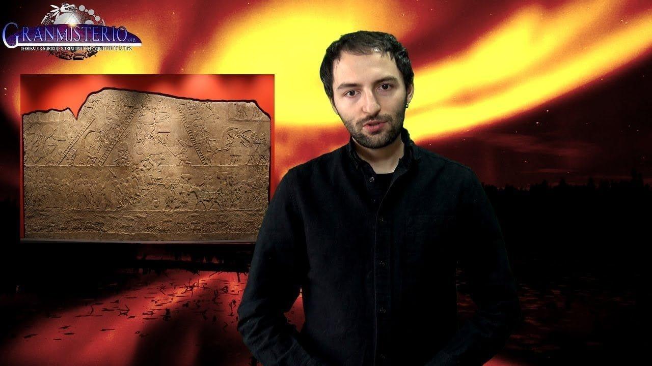 Algo muy raro de color rojo apareció en los cielos de Mesopotamia