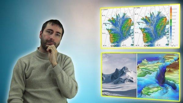 Descubiertas Misteriosas Estructuras Debajo de la Antártida y Groenlandia