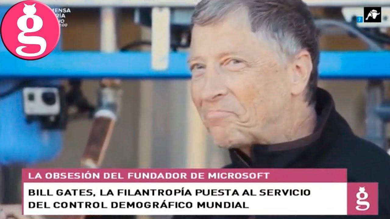 Bill Gates, la filantropía puesta al servicio del control demográfico mundial