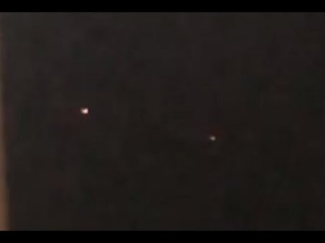 2 ovnis rojos sobre Columbus, Ohio 20-jun-2020