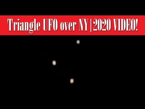 VIDEO: Triángulo gigante OVNI sobre Whitestown, NY 9-jun-2020