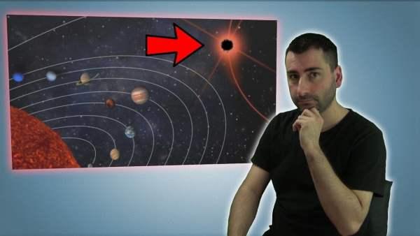 Científicos Creen que Podría Haber un Pequeño Agujero Negro en el SISTEMA SOLAR y lo Están Buscando
