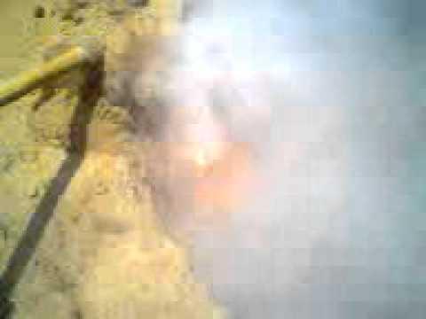 Llamas misteriosas brotan de la tierra, 4 de mayo, 2012