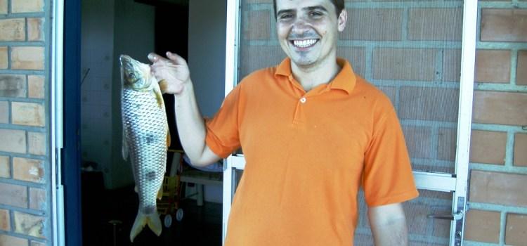 Finalmente a foto do peixe