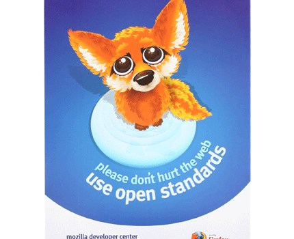 Firefox – use the open standards
