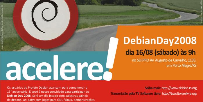 Debian Day Brasil 2008 em Porto Alegre