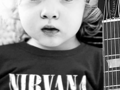 Roupas de rock para bebês e crianças