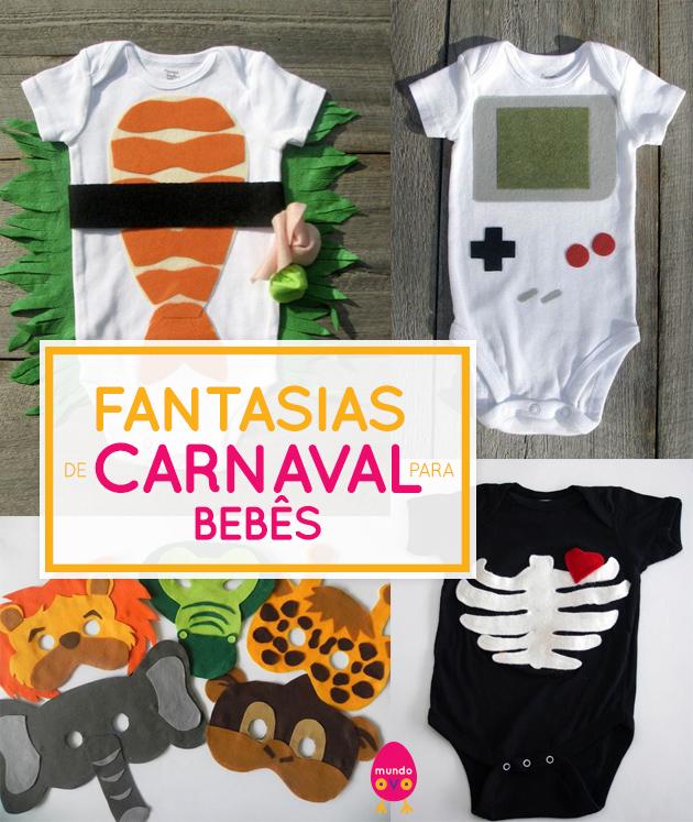 fantasias de carnaval para bebes diy