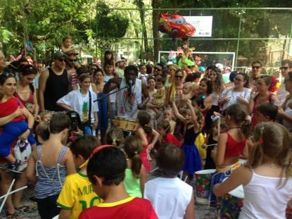 Carnaval Infantil no rio