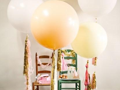 Balões de festa diferentes