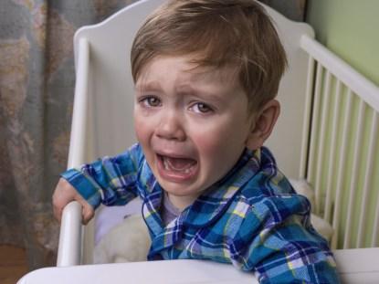 Por que as crianças choram?
