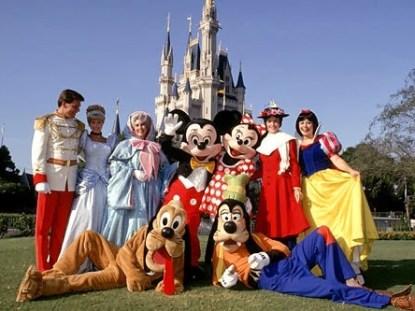 Disney pela primeira vez